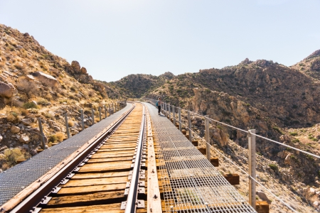 Goat Canyon Trestle Bridge hike via Carrizo Gorge Road