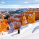 Winter Hiking in Bryce Canyon: Navajo Loop to Queens Garden Trail