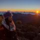 Sunrise at the Haleakala Crater in Maui
